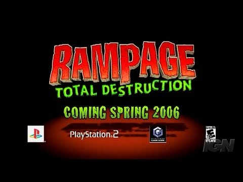 Rampage Total Destruction Gc All In 1