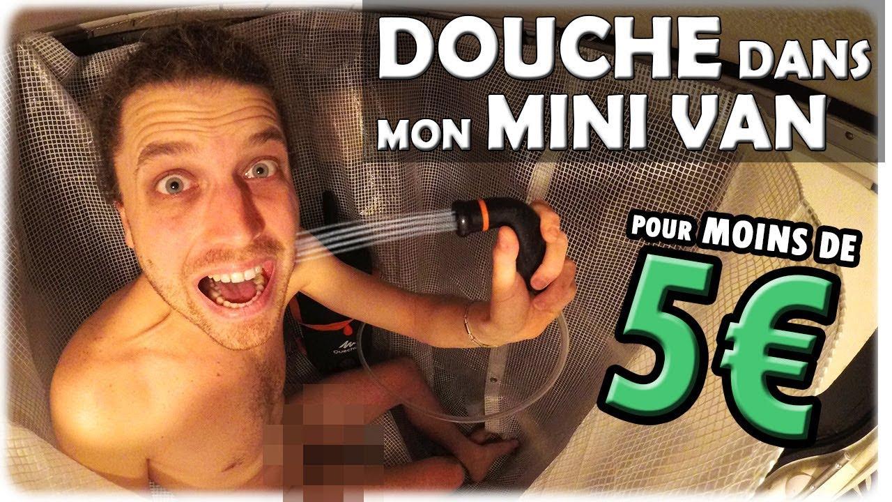 FABRIQUER SA DOUCHE AMOVIBLE POUR MINI VAN, PETIT FOURGON AMÉNAGÉ OU CAMPING CAR pour MOINS DE 5€ !!