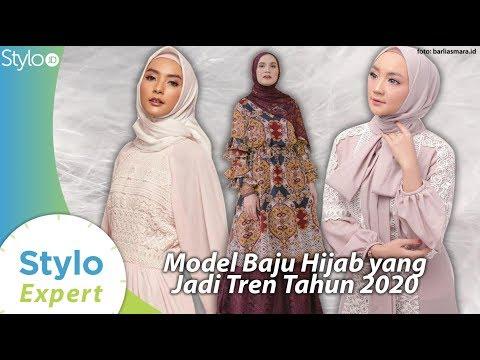 Model Baju Gamis Tunik Yang Jadi Tren Fashion Hijab 2020