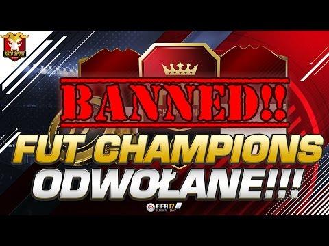 FUT CHAMPIONS ODWOŁANE!!!