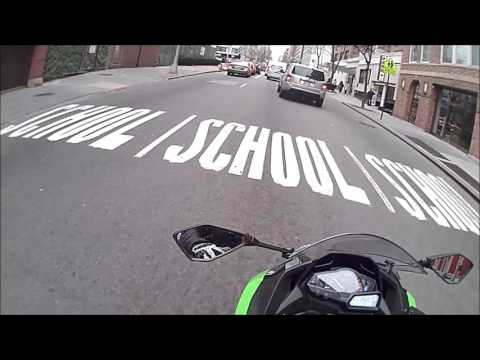 Learning to Ride in NYC on a Ninja 300