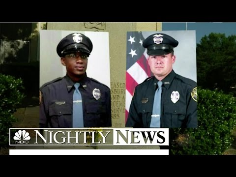 Two Mississippi Cops Killed In The Line Of Duty | NBC Nightly News