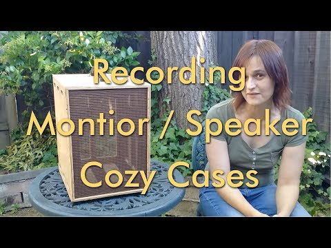 Making Studio-Monitor / Amplifier Cozy Cases