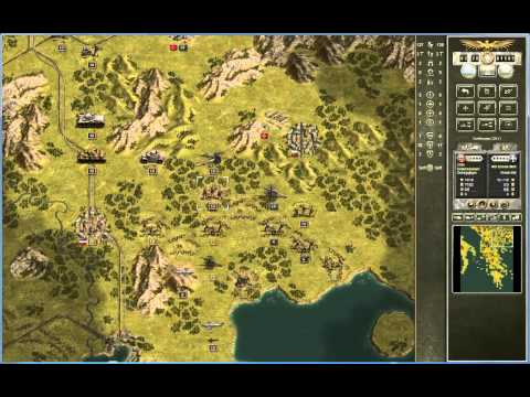 Let's Play: Panzer Corps (011): Assisting In The Balkans (1/2): Time To Bail Out The Italians..!