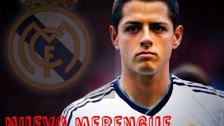 """Javier """"Chicharito"""" Hernandez nuevo jugador del Real Madrid"""