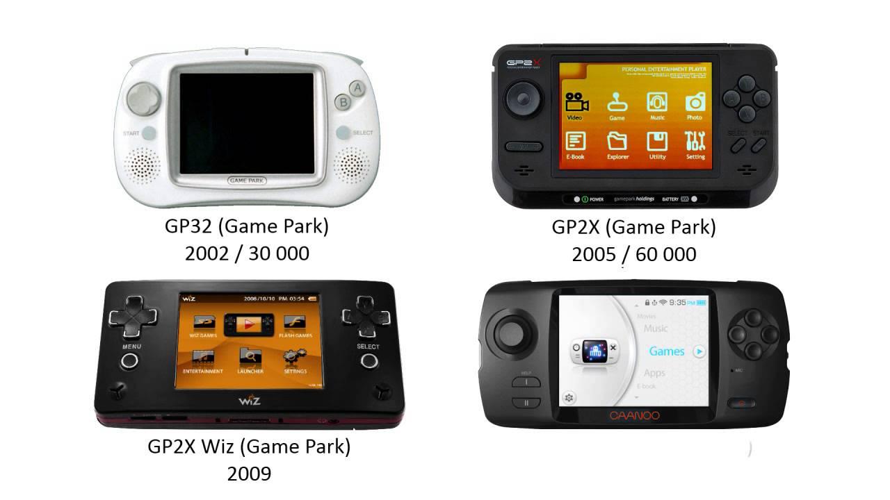 Some history: handheld video game consoles (Nintendo, Atari, Nec ...