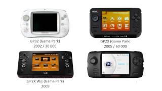 Some history: handheld video game consoles (Nintendo, Atari, Nec, Sega, SNK, Sony,...)