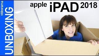 Apple iPad 2018 + pencil unboxing -el iPad LOW COST- 📱🎓👈