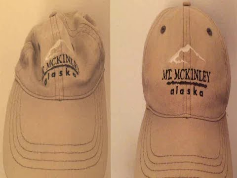 Restoring an Old Ball Cap Back to its Original Shape