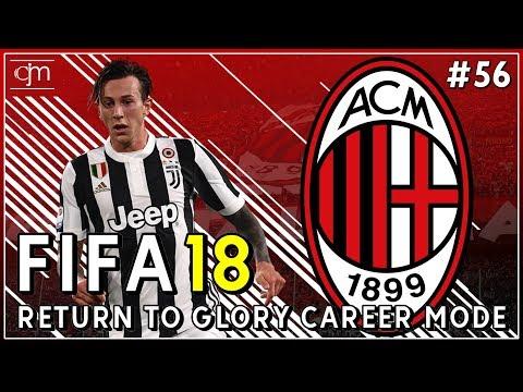 FIFA 18 AC Milan Career Mode: Rossoneri Tandang Ke Markas Bianconeri #56