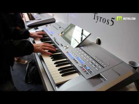 Nagrania dla muzykuj.com – Yamaha Tyros 5 Grand Piano – musikmesse 2017 gra: Kamil Barański www.muzykuj.com
