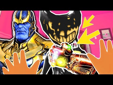BABY SUMMONS THANOS TO BATTLE BENDY'S INFINITY GAUNTLET | Baby Hands VR (Lets Play HTC Vive Gameplay