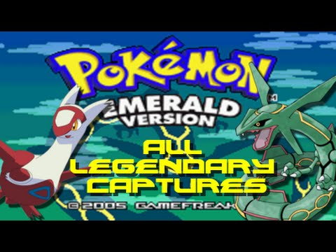 Pokemon Emerald: ALL Legendary Pokemon Captures/Locations!!
