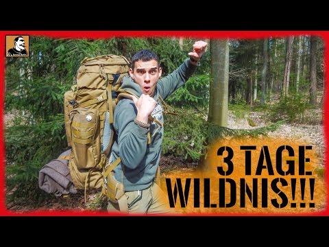 """""""Survival Mattin"""" packt seinen Tasmanian Tiger Rucksack für 3 Tage Bushcraft Survival und überlebt!"""