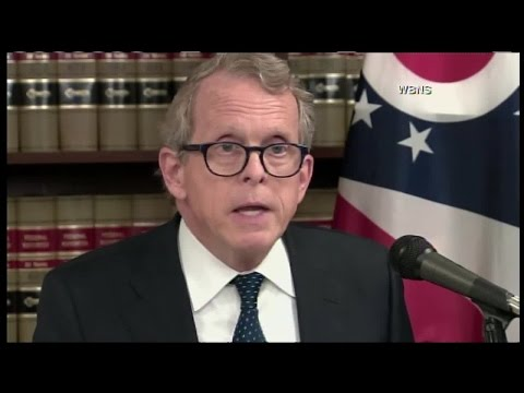 Ohio attorney general announces lawsuit against 5 drug companies for opioid marketing, sales
