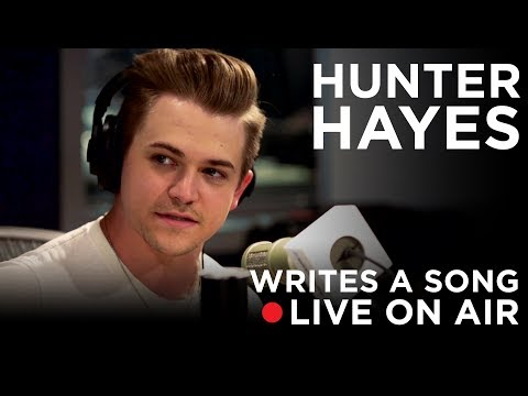 Writing A Song LIVE On The Radio with Hunter Hayes | SiriusXM VOLUME