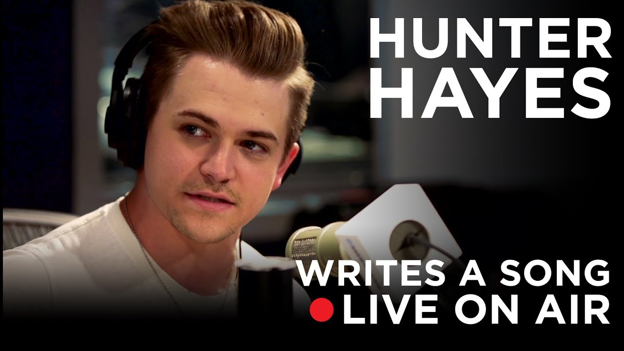 Writing A Song Live On The Radio With Hunter Hayes Siriusxm Volume