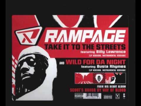 Rampage - Wild For Da Night (Clean Version)