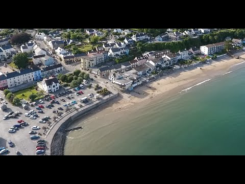 Saundersfoot harbour & beach footage on Phantom 4 (unedited & sports mode)