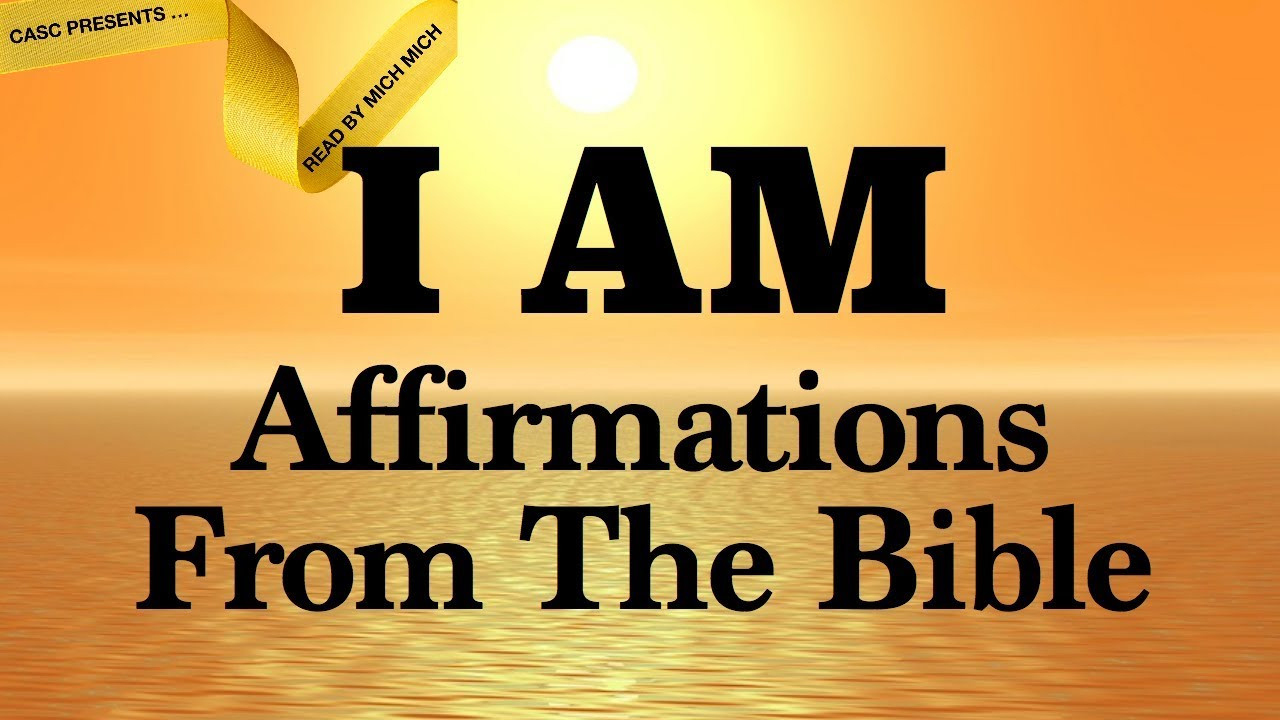 i am affirmations from