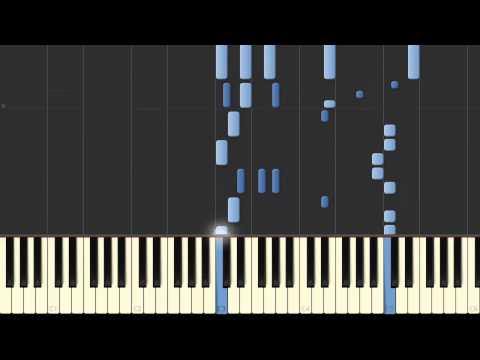 Fawkes the Phoenix Piano Tutorial (Synthesia) - By John Williams
