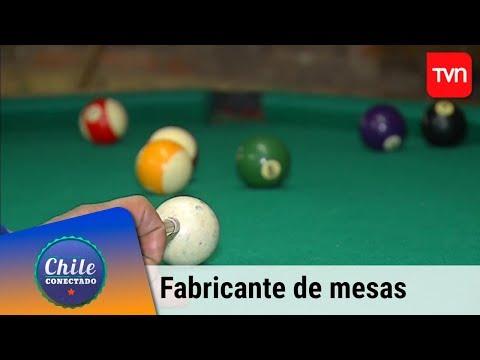 El Fabricante De Mesas De Pool   Chile Conectado   Buenos Días A Todos