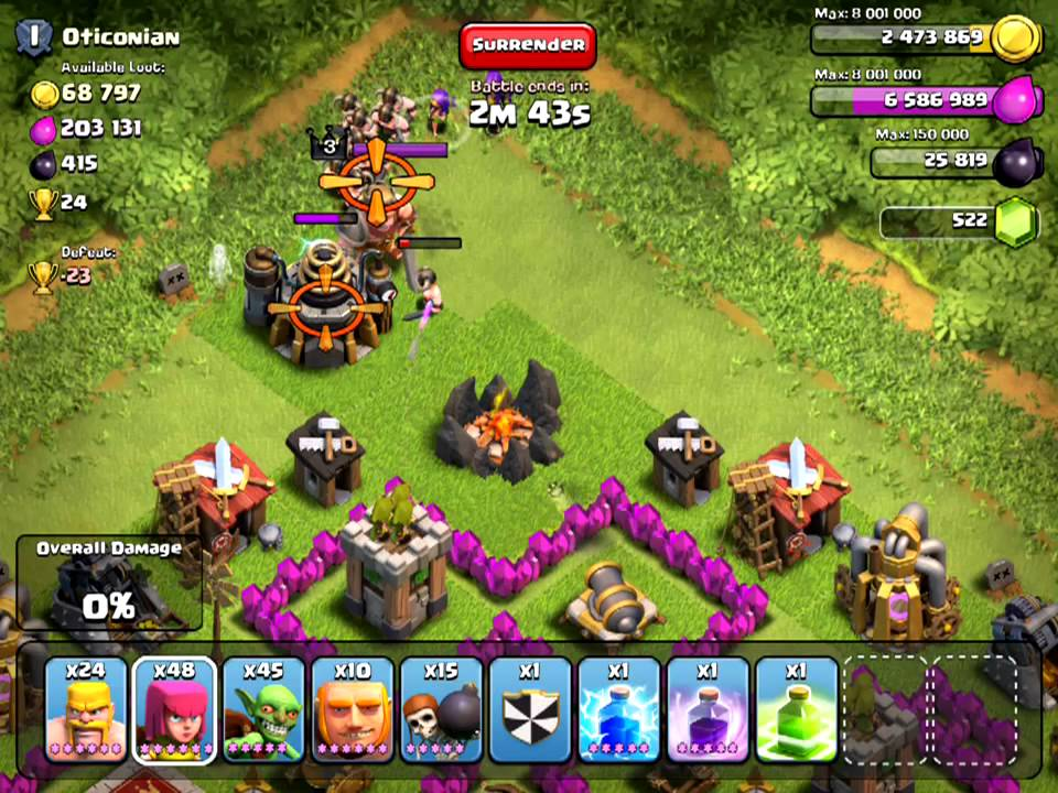 X Bow Clash Of Clans [Clash of Clans...