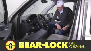Test VW T6 DSG 204PS Multivan Diebstahl Versicherung Bear Lock 1871R Alarmanlage nachrüsten