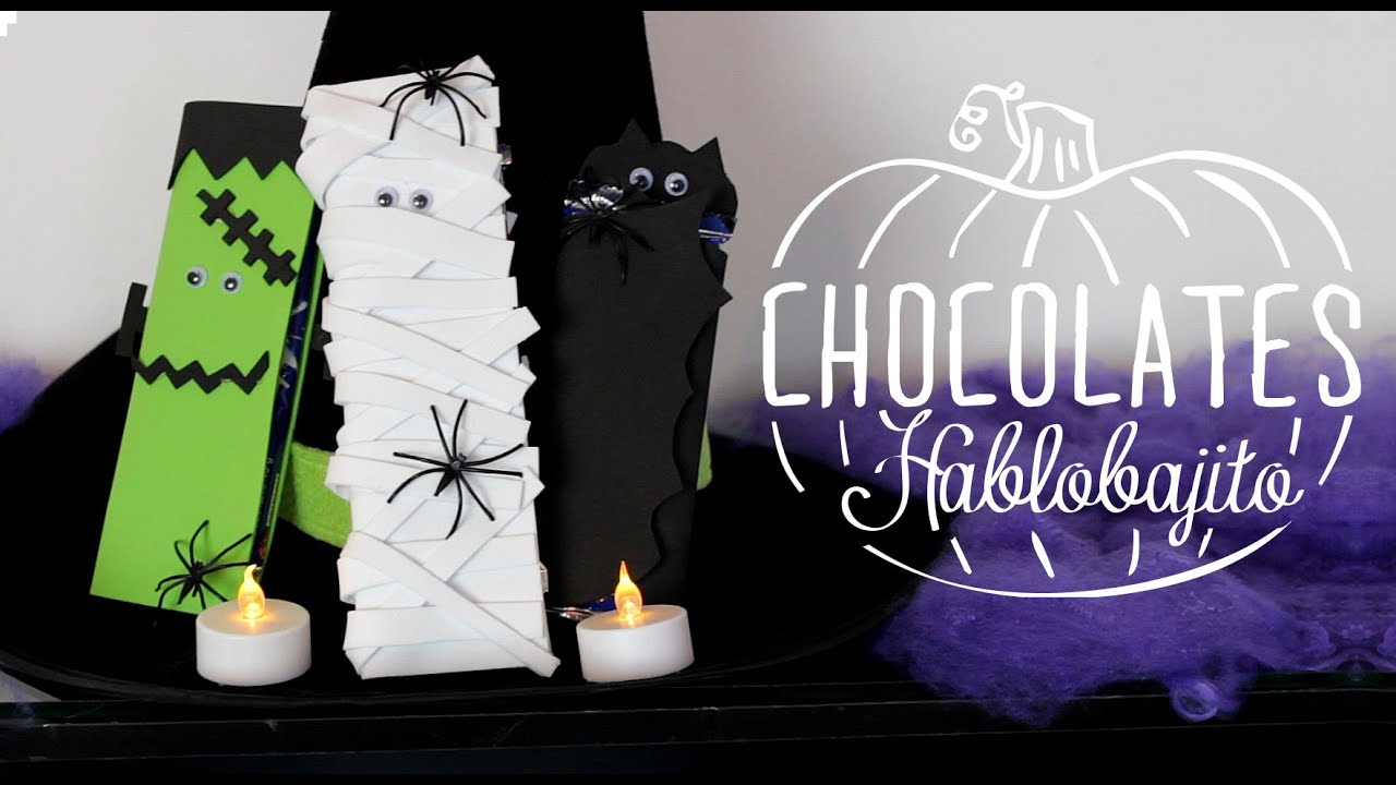 Ideas para decorar dulces fiesta de halloween - Ideas para fiesta halloween ...