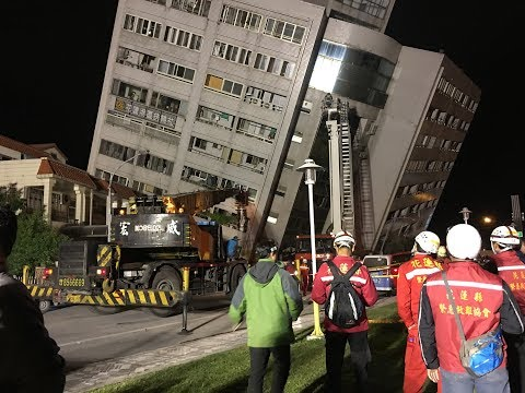 At least two dead in magnitude 6.4 quake in Taiwan: Premier