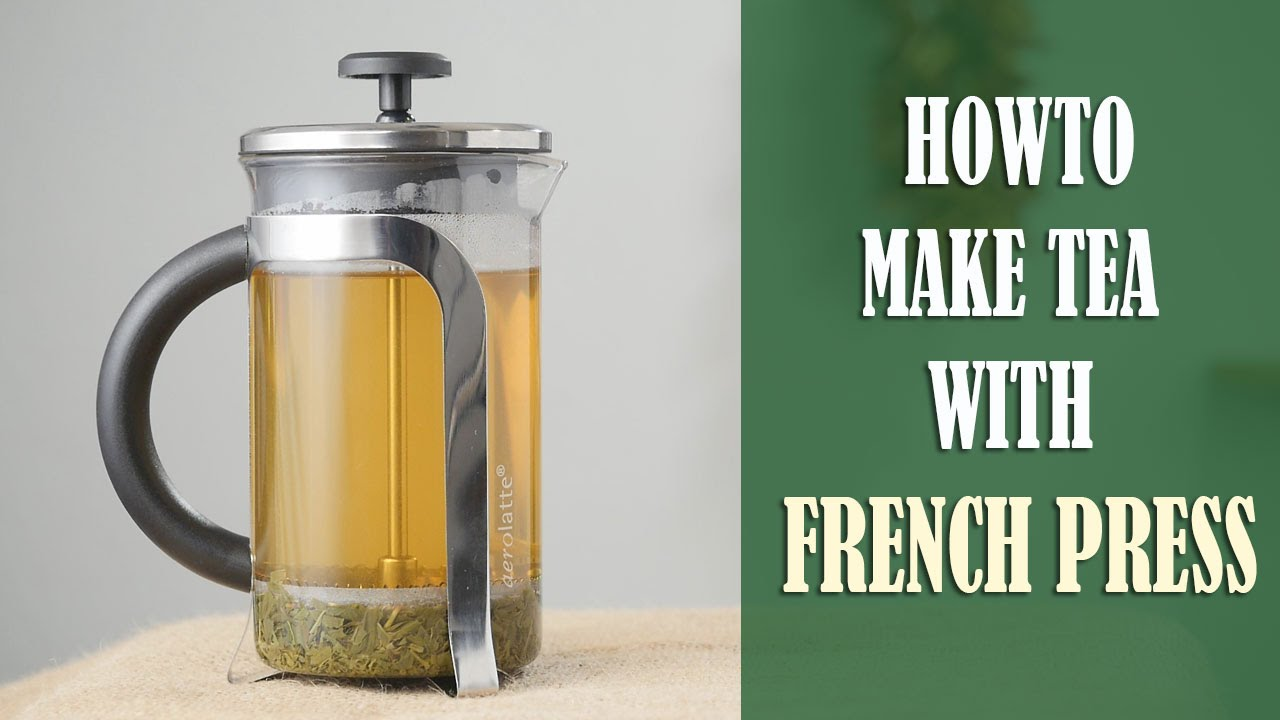 how to make perfect tea every time with french press youtube. Black Bedroom Furniture Sets. Home Design Ideas
