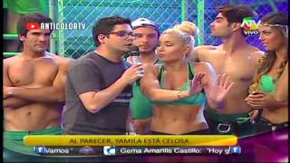 COMBATE Nikko Ponce le canta a Lucia 27/01/14