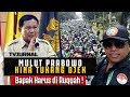 RUQYAH MULUTMU ! Prabowo Rendahkan Tukang Ojek , OJOL geruduk Jalan ...