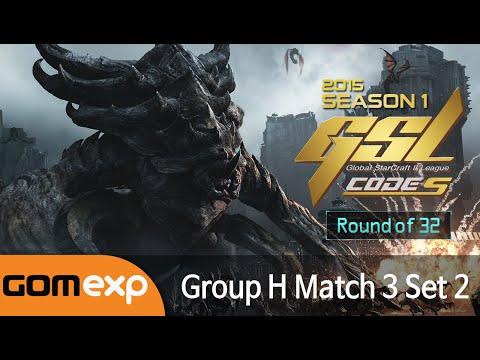 Solar vs Innovation (ZvT) - Code S Ro32 Group H Match 3 Set 2, 2015 GSL Season 1 - Starcraft 2