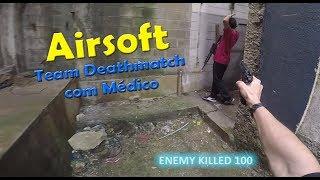 ALEMÃO AIRSOFT - TEAM DEATHMATCH COM MÉDICO - TERMINUS 14/04/2018