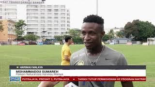 sumareh hadir sesi latihan skuad kebangsaan harimau malaya