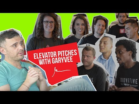 Elevator Pitches with GaryVee at VaynerMedia Headquarters💪 🔥