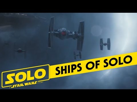 The New Ships and Vehicles of Solo: A Star Wars Story