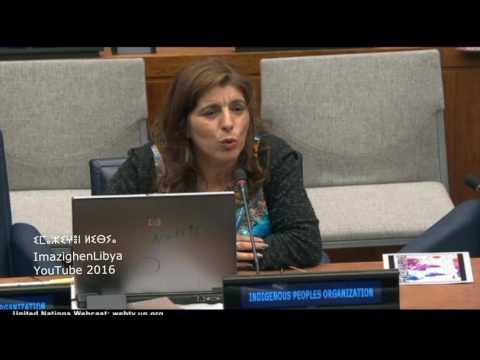 Congres Mondial Amazigh 2016 New York 15th Session of the UN PFII