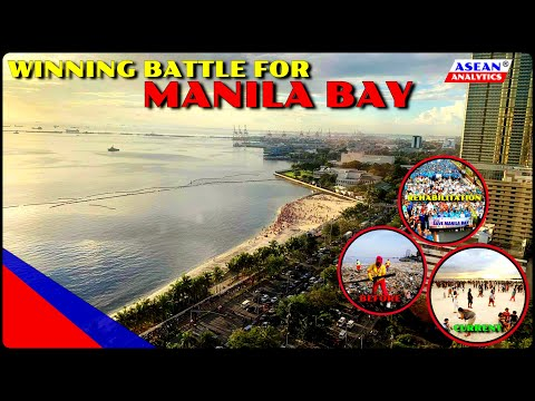 MANILA BAY REHABILITATION: Winning Battle for Manila Bay: From Sewage to White Sand Beach