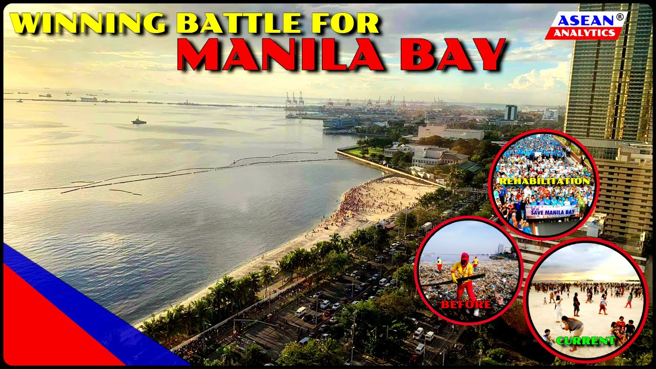 Download MANILA BAY REHABILITATION: Winning Battle for Manila Bay: From Sewage to White Sand Beach