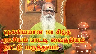 Repeat youtube video Sidha Ragasiyam 108 nattu marthvam PATTI VAITHIYAM
