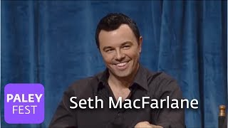 Seth MacFarlane And Friends -- Voicing Brian & Stewie (Paley Interview)