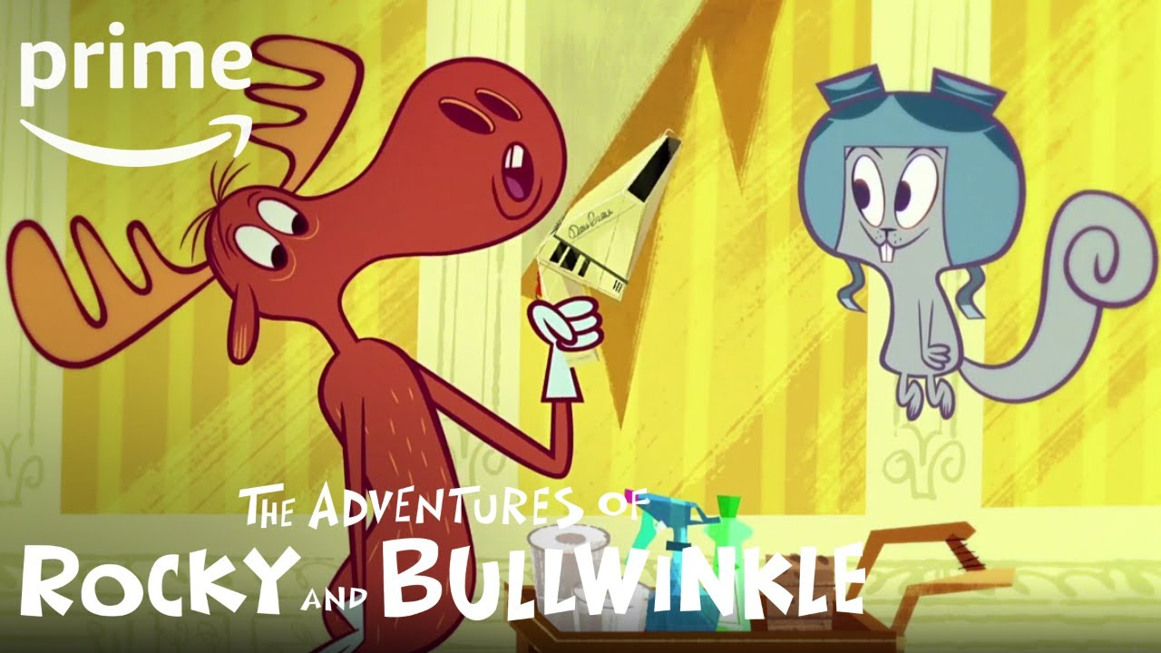 Download The Adventures of Rocky and Bullwinkle - Clip: Maids | Prime Video Kids
