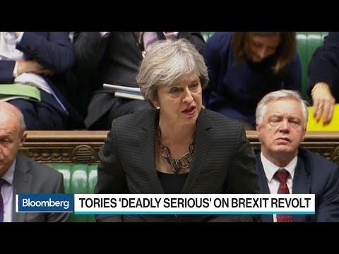 Tories Consider Revolt Over Parliament Brexit Vote