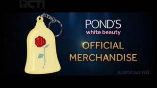 Iklan Official Merchandise Beauty And The Beast dari POND's White Beauty 15s (2017)