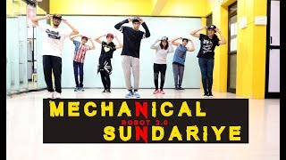 Mechanical Sundariye | Robot 2.0 | Dance Choreography | Mohit Jain's Dance Institute MJDi