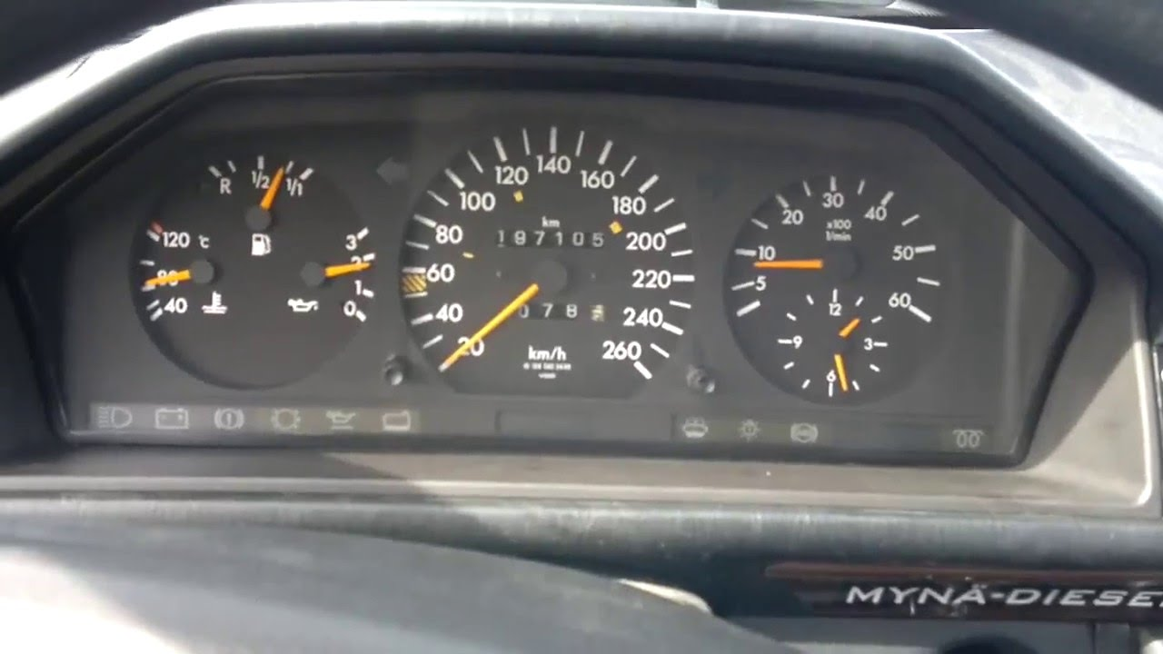 mercedes benz w124 300d turbo sprint 0 250 km h youtube