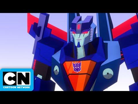 Transformers Cyberverse | Windblade & Bumblebee Battle a Seeker | Cartoon Network