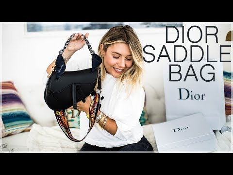 Dior Saddle Bag Unboxing | Conscience Coupable